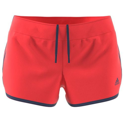 Display product reviews for adidas Women's M10 Woven 3-Stripes Short