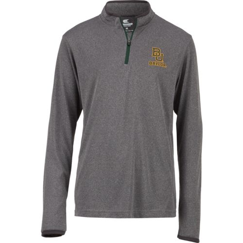 Colosseum Athletics Youth Baylor University Action Pass 1/4 Zip Wind Shirt
