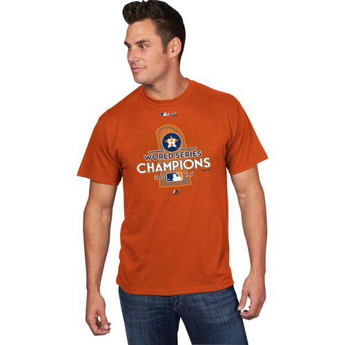 Majestic Men's Astros World Series Champions Locker Room T-Shirt - view number 2