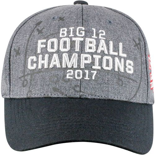 Top of the World University of Oklahoma '17 Big 12 Football Champ Curved Bill Cap