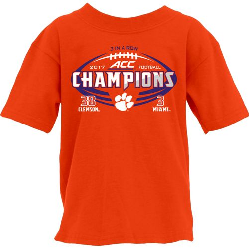 Blue 84 Boys' Clemson University ACC Champ Score T-Shirt