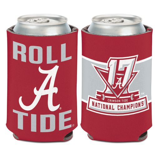 WinCraft University of Alabama 2017 CFP National Champs Koozie