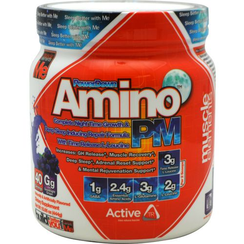 Muscle Elements PowerDown Amino PM Supplement