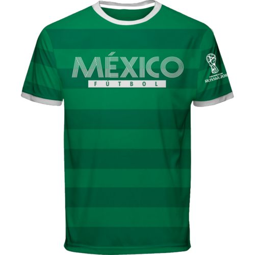 Fifth Sun Men's Mexico World Cup Russia 2018 Siempre Performance Jersey
