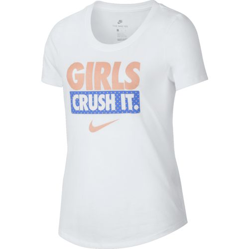 Nike Girls' Crush It Short Sleeve T-shirt - view number 1