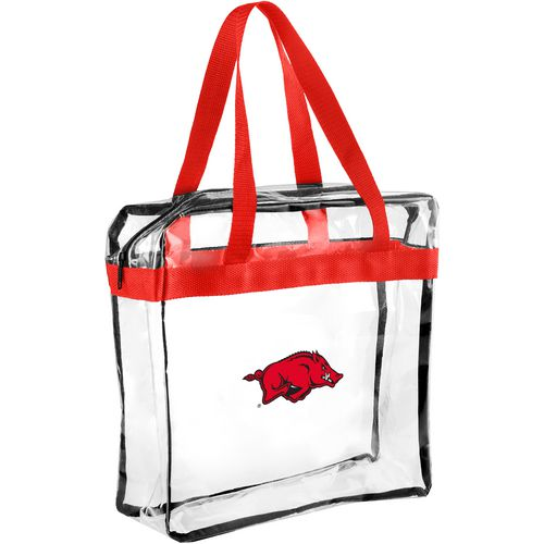 Forever Collectibles University of Arkansas Clear Messenger Bag
