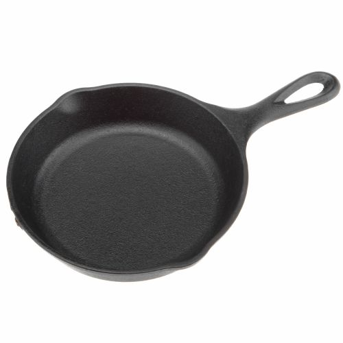 "Lodge 6.5"" Preseasoned Cast-Iron Skillet"