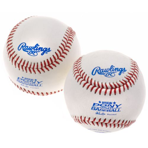 Rawlings Pony League Baseballs 2-Pack