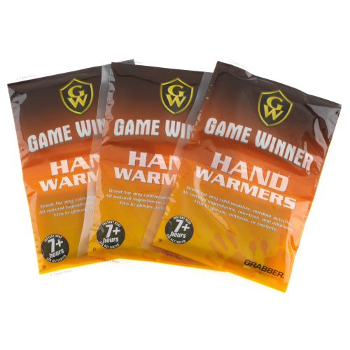 Game Winner® Grabber Hand Warmers 3-Pack