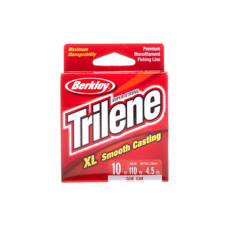 Display product reviews for Berkley® Trilene XL® 110-Yard Pony Spool Fishing Line