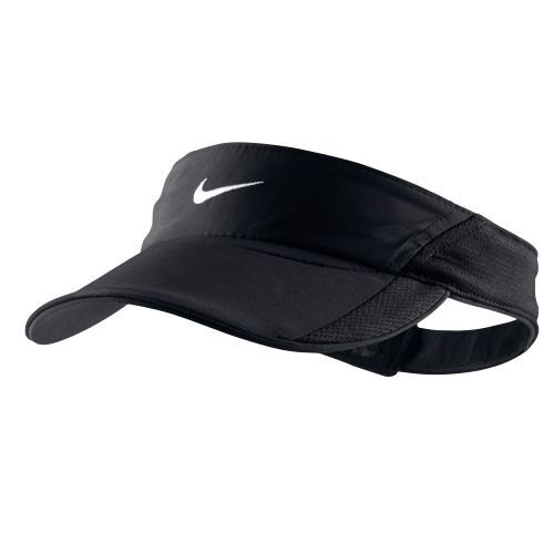 www.academy.com shop pdp nike-women-s-feather-light-visor-hat  pid-164651 color Black%2fBlack%2fBlack%2fWhite N 12503407 Ntt nike +visor Ntk All 64fc800638c