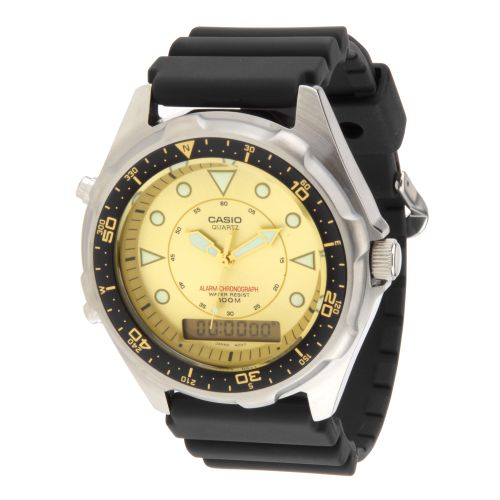 Casio Men's Analog-Digital Chronograph Dive Watch