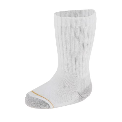 PowerSox Kids' EZ Match Crew Socks 6-Pack