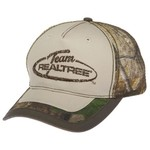 Team Realtree Men's Distressed Logo Cap