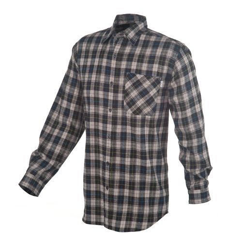 Carhartt Men's Long Sleeve Plaid Flannel Shirt