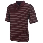 PGA Tour Men's Striped Golf Polo Shirt