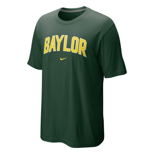 Nike Men's Baylor University Short Sleeve Classic Arch T-shirt