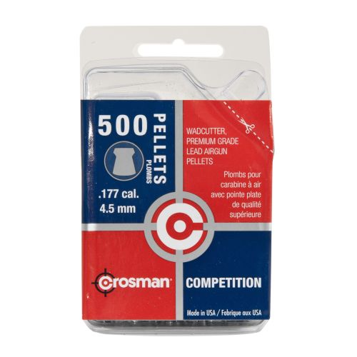 Crosman .177 Caliber Wadcutter Pellets 500-Pack - view number 2