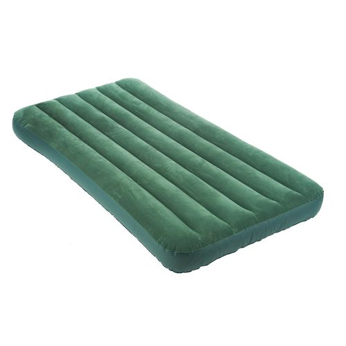 INTEX® Downy Twin-Size Airbed with Built-In Foot Pump