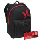 Hurley Men's Vapor Backpack with Pencil Case