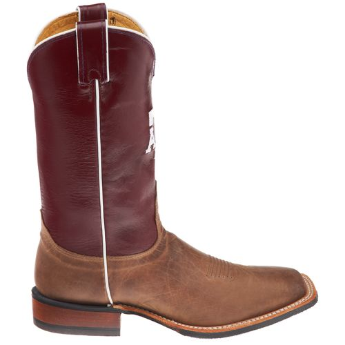 Justin Men's Texas A&M University Nocona Cowboy Boots