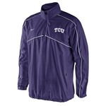 Nike Men's Texas Christian University Woven Coaches 1/4 Zip Jacket