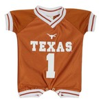Little King Infant/Toddlers' University of Texas Dazzle and Mesh Romper