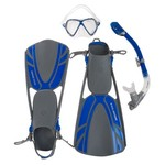 U.S. Divers Adults' Regal Silicone Snorkeling Set