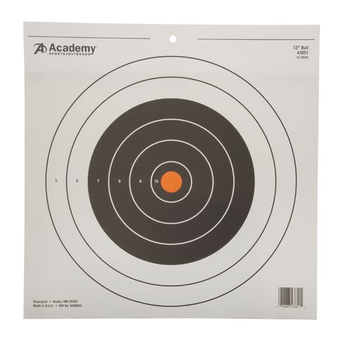 Champion 12 in Bull's-eye Target