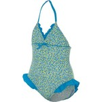 Malibu Girls' Confetti Swimsuit with Ruffles