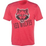 Colosseum Athletics Men's Arkansas State University Ace Crew Neck T-shirt