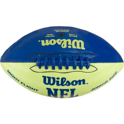 Image for Wilson NFL Night Flight Junior Size Glow-in-the-Dark Football from Academy