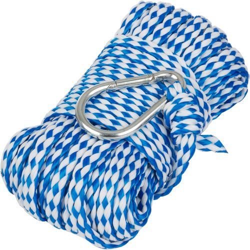 Marine Raider 1/4 in x 50 ft Hollow Braid Anchor Line