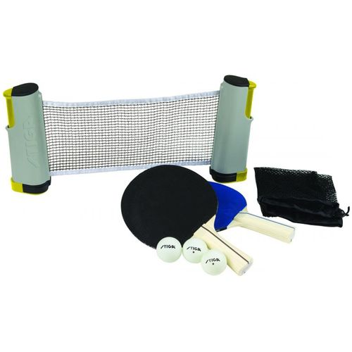 Stiga® Anywhere Retractable-Net Table Tennis Set