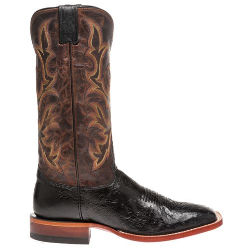 Justin Men's Exotics Smooth Ostrich Western Boots