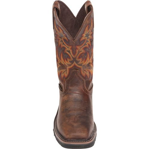 Justin Women's Stampede Rugged Cowhide Steel Toe Western Work Boots - view number 4