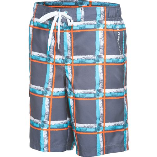 O'Rageous Boys' Paintbrush Plaid Boardshort