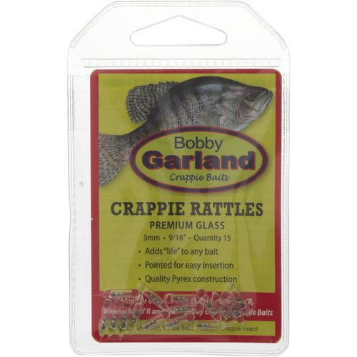 Display product reviews for Bobby Garland Crappie Glass Rattles 15-Pack