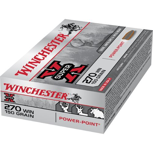 Winchester Super-X Power-Point .270 Winchester 150-Grain Rifle Ammunition - view number 1