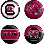 WinCraft University of South Carolina Buttons 4-Pack