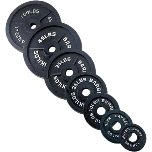 Body-Solid 225 lb. Olympic Weight Set