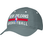 adidas Adults' New Orleans Pelicans Authentic Practice Slouch Adjustable Cap