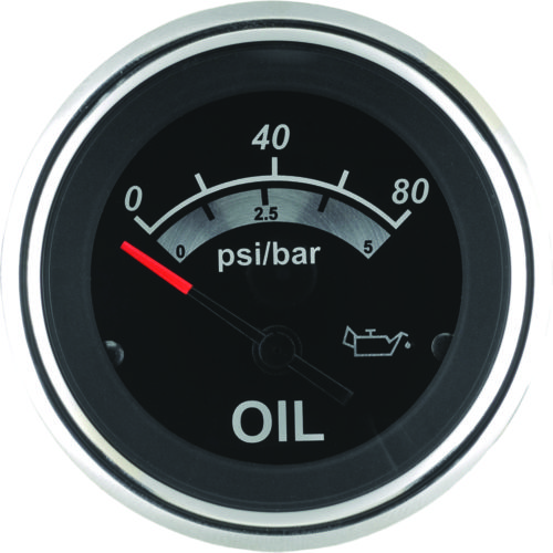 SeaStar Solutions Sterling Oil Pressure Gauge