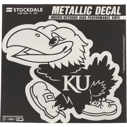 Stockdale University of Kansas Metallic Decal