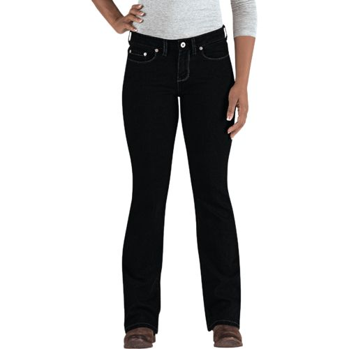 Display product reviews for Dickies Women's Curvy Fit Boot Cut Leg Jean