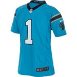 Nike™ Kids' Carolina Panthers Cam Newton Game Alt Jersey - view number 2