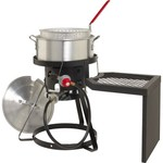 Outdoor Gourmet Pro™ 10 qt. Fryer Set with Side Table