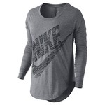Nike Women's Freestyler Logo Long Sleeve Top