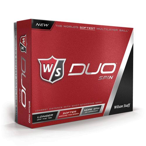 Wilson Staff DUO Spin Performance Golf Balls 12-Pack