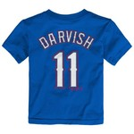 Majestic Toddlers' Texas Rangers Yu Darvish #11 T-shirt